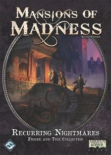 Mansions of Madness: Second Edition – Recurring Nightmares: Figure and Tile Collection