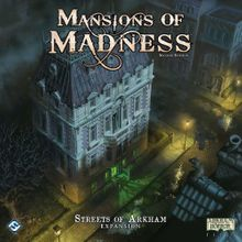 Mansions of Madness: Second Edition – Streets of Arkham Expansion