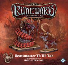 Runewars Miniatures Game: Beastmaster Th'Uk Tar – Hero Expansion