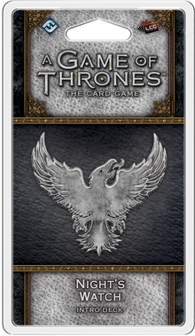 A Game of Thrones: The Card Game (Second Edition) – Night's Watch Intro Deck