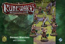 Runewars Miniatures Game: Darnati Warriors – Unit Expansion