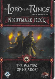The Lord of the Rings: The Card Game – Nightmare Deck: The Wastes of Eriador
