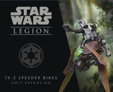 Star Wars: Legion – 74-Z Speeder Bikes Unit Expansion