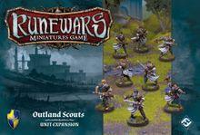 Runewars Miniatures Game: Outland Scouts – Unit Expansion
