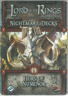 The Lord of the Rings: The Card Game – Nightmare Deck: Heirs of Númenor