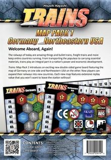 Trains: Map Pack 1 – Germany/Northeastern USA