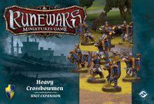 Runewars Miniatures Game: Heavy Crossbowmen – Unit Expansion