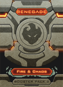 Renegade: Booster Pack 2 – Fire & Chaos