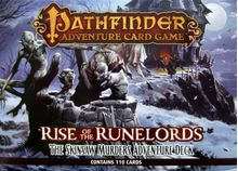 Pathfinder Adventure Card Game: Rise of the Runelords – Adventure Deck 2: The Skinsaw Murders