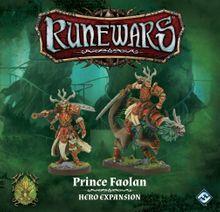 Runewars Miniatures Game: Prince Faolan – Hero Expansion