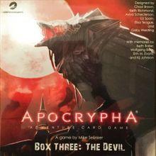 Apocrypha Adventure Card Game: Box Three – The Devil