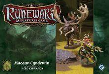 Runewars Miniatures Game: Maegan Cyndewin – Hero Expansion
