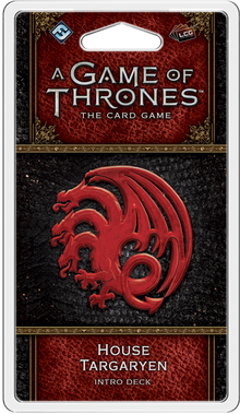 A Game of Thrones: The Card Game (Second Edition) – House Targaryen Intro Deck