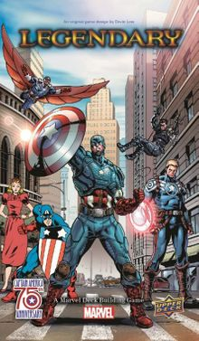 Legendary: A Marvel Deck Building Game – Captain America 75th Anniversary