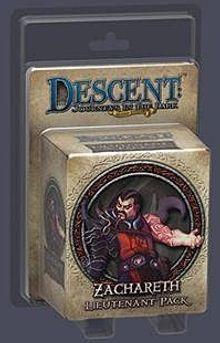 Descent: Journeys in the Dark (Second Edition) – Zachareth Lieutenant Pack
