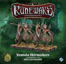 Runewars Miniatures Game: Ventala Skirmishers – Unit Expansion