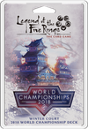 Legend of the Five Rings: The Card Game – Winter Court – 2018 World Championship Deck